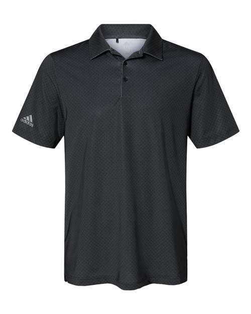 Adidas A498 - Diamond Dot Print Sport Shirt