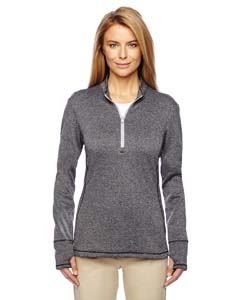 adidas Golf A275 - Ladies' Brushed Terry Heather Quarter Zip