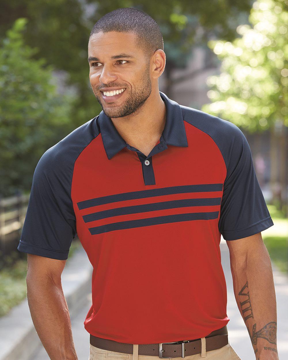 Adidas A224 - Climacool 3-Stripes Sport Shirt