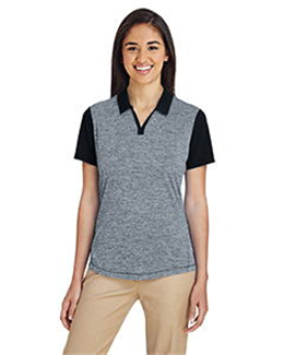 Adidas A146 - Women's Heather Block Sport Shirt