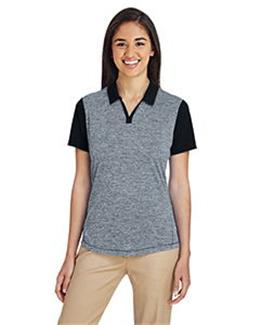 Adidas A146 - Women's Heather Block Sport Shirt