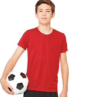 ALL SPORT M1009Y - YOUTH PERFORMANCE SHORT SLEEVE TEE