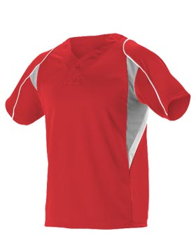 Alleson Athletic 529 - Men's eXtreme Mock Mesh Baseball Jersey