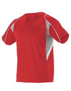 Alleson Athletic 529 - Men's eXtreme Mock Mesh Baseball ...