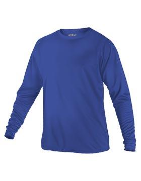 Alleson Athletic 5081LS - Men's Tech Crew Neck Long Sleeve Tee