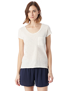 Alternative 12421J - Ladies' Washed Slub Favorite T-...