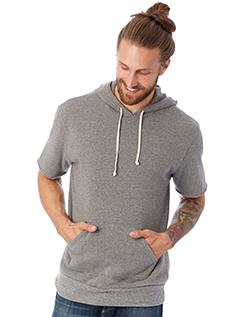 Alternative 3501F2 男士短袖卫衣套头衫