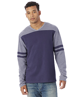 Alternative 5077BT - Men's French Terry Trainer L/S Pullover