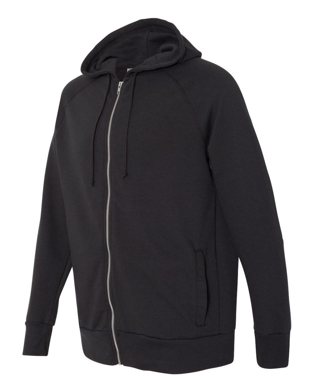 Alternative 5081 - Vintage Sport French Terry Hooded Full-Zip Raglan Sweatshirt