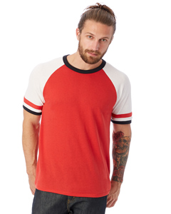 Alternative 5093BP - Men's Slapshot Vintage Jersey T-...