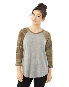 Alternative 61352 - Ladies' Eco Jersey Raglan Baseball ...
