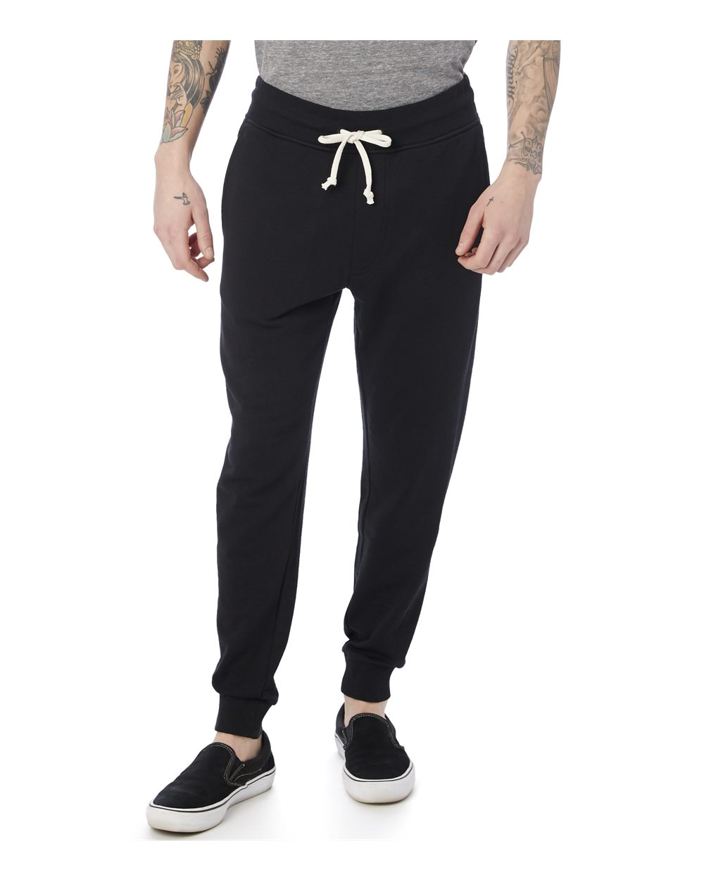 Alternative 8625 - Men's Campus Burnout French Terry Jogger