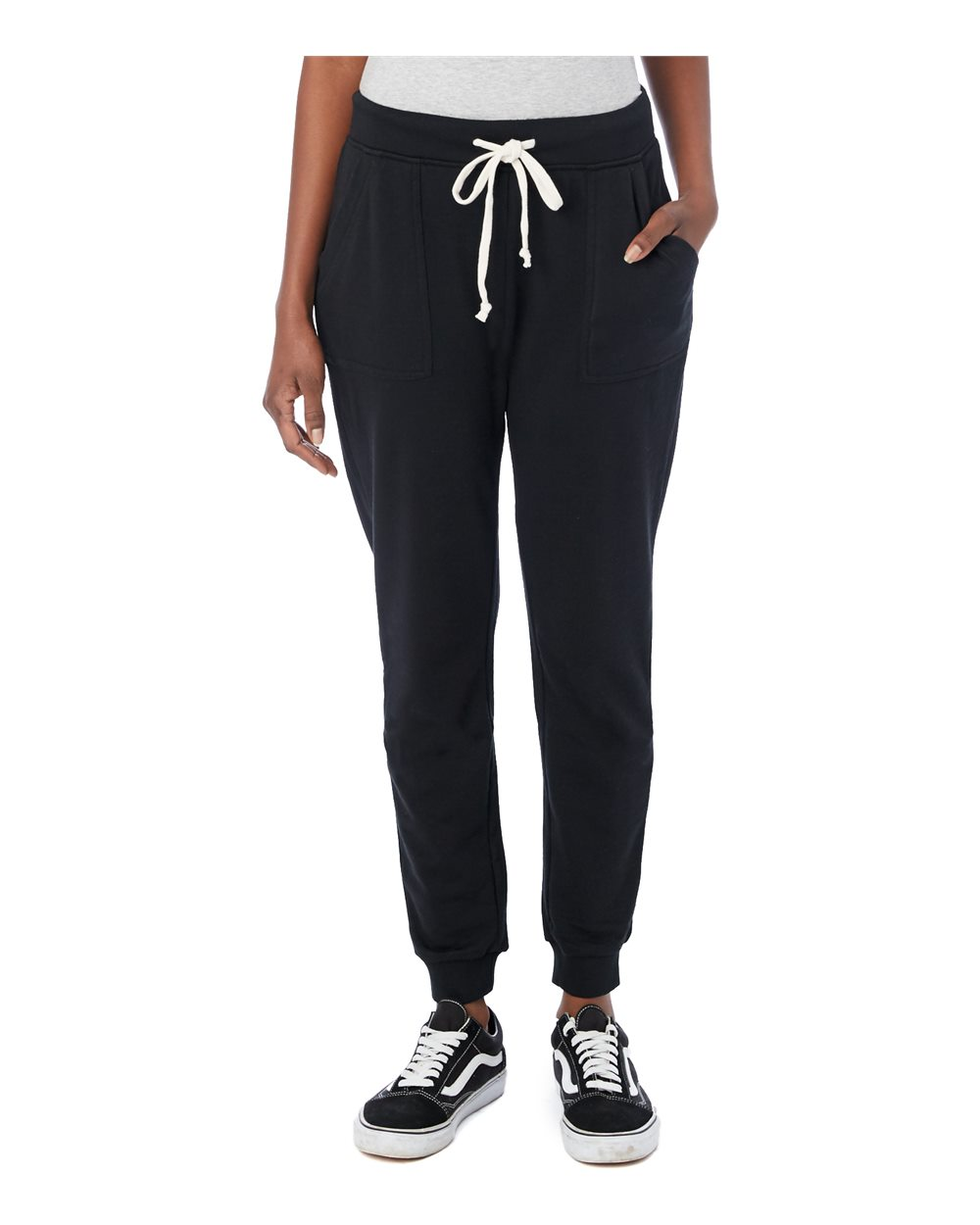 Alternative 8632 - Women's Long Weekend Burnout French Terry Jogger