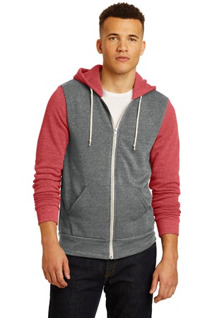 Alternative® AA32023 - Colorblock Rocky Eco-Fleece Zip Hoodie