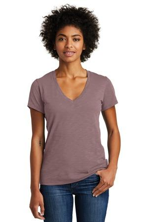 Alternative AA6097 - Weathered Slub So-Low V-Neck Tee