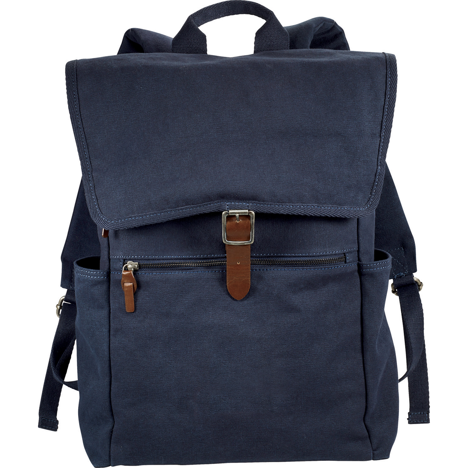 """Alternative 9004-45 - Mid 15"""" Cotton Computer Backpack"""