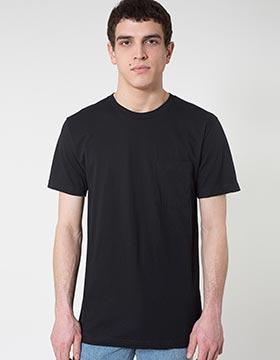 American Apparel 2406W - Unisex Fine Jersey Pocket T-Shirt