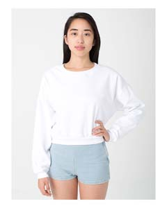 American Apparel 5336 - California Fleece Cropped Sweatshirt