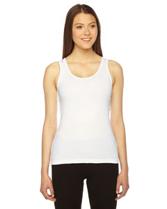 American Apparel AM3308 - Ladies' Rib Boy Beater Tank