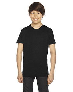American Apparel BB201W - Youth Poly-Cotton Short-Sleeve ...