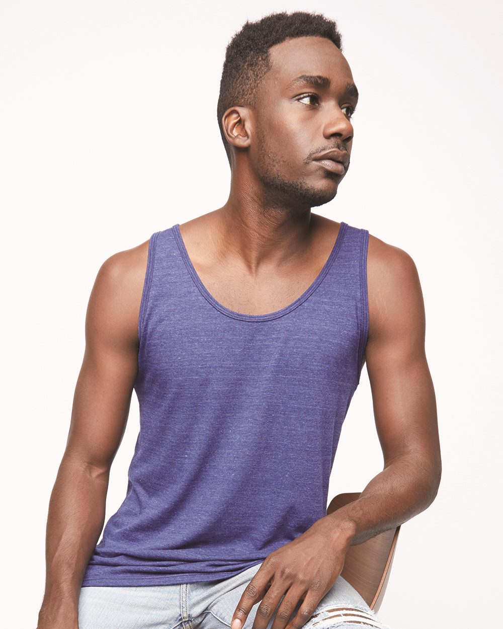 American Apparel BB408W - Poly/Cotton Tank