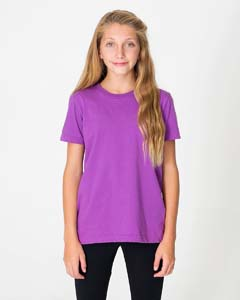 American Apparel Drop Ship 2201ORG - Youth Organic Fine Jersey Short Sleeve Tee