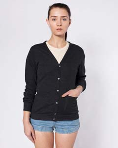 American Apparel Drop Ship SABR400 - Tri Blend Rib Cardigan