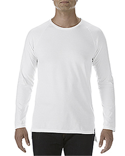 Anvil 5628 - Adult Lightweight Long & Lean Raglan Long ...