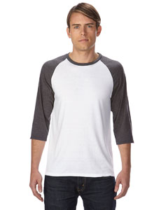 Anvil 6755 - Triblend 3/4-Sleeve Raglan T-Shirt