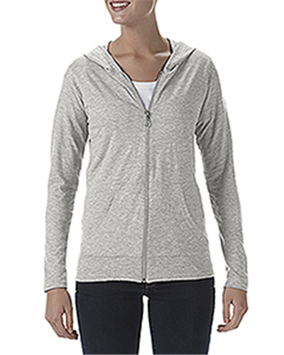 Anvil 6759L - Tri-Blend Ladies' Full Zip Jacket