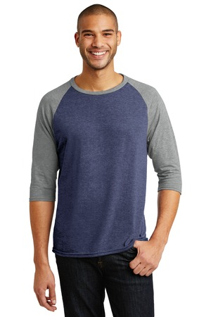 Anvil® AN6755 - Tri-Blend Three Fourth Sleeve Raglan Tee