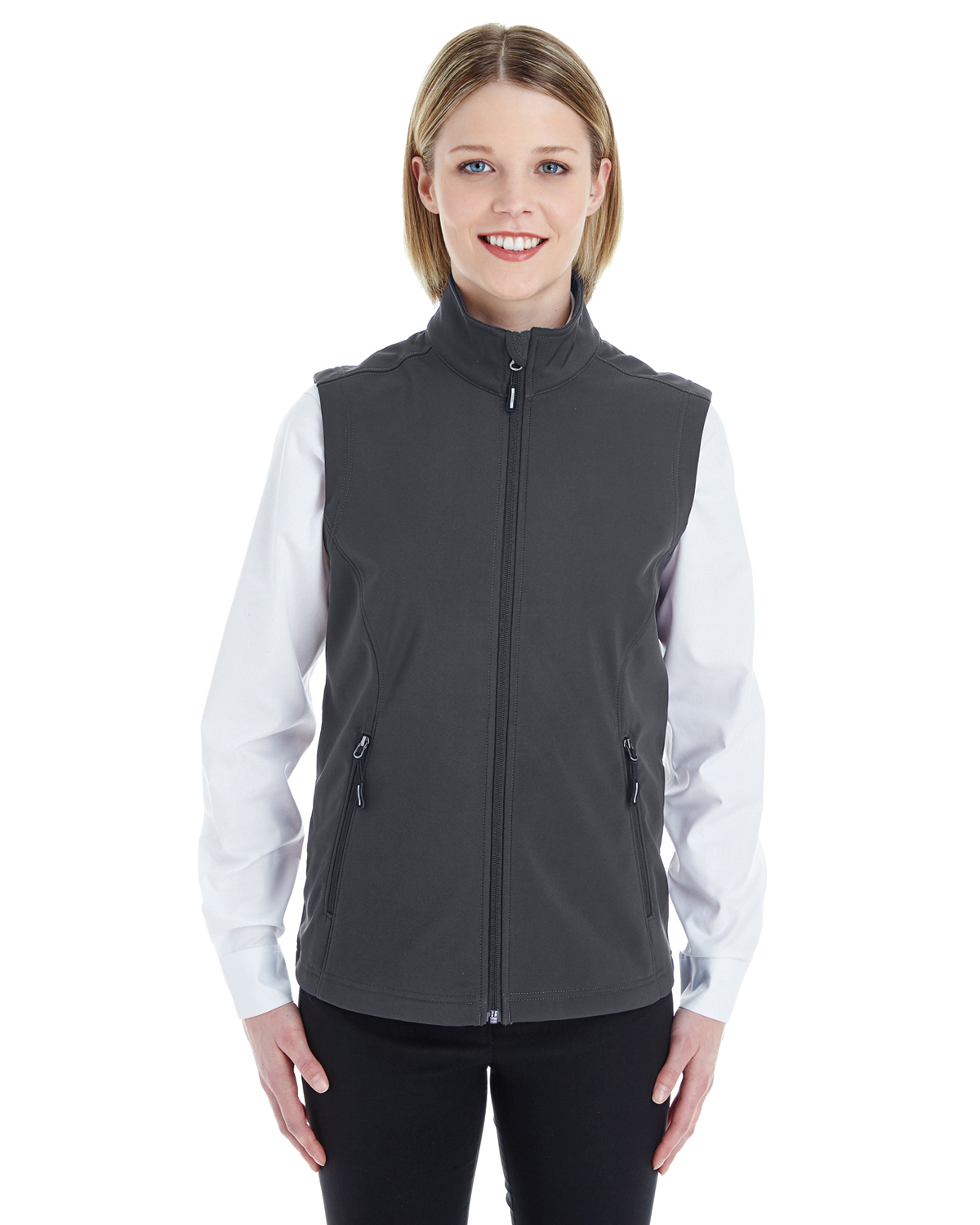 Ash City CE701W - Ladies' Cruise Two-Layer Fleece Bonded ...