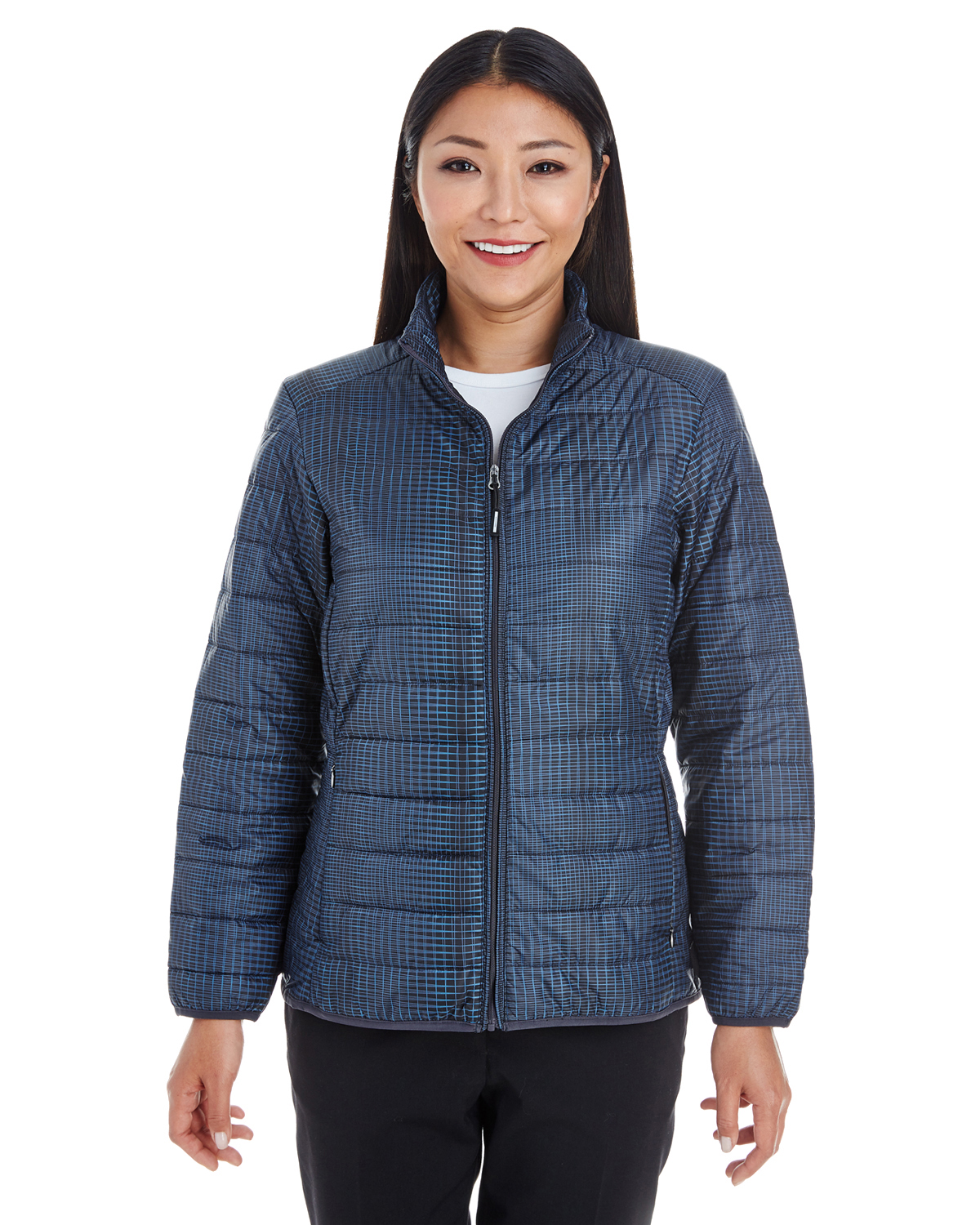 Ash City - North End NE701W - Ladies' Portable Interactive Printed Packable Puffer