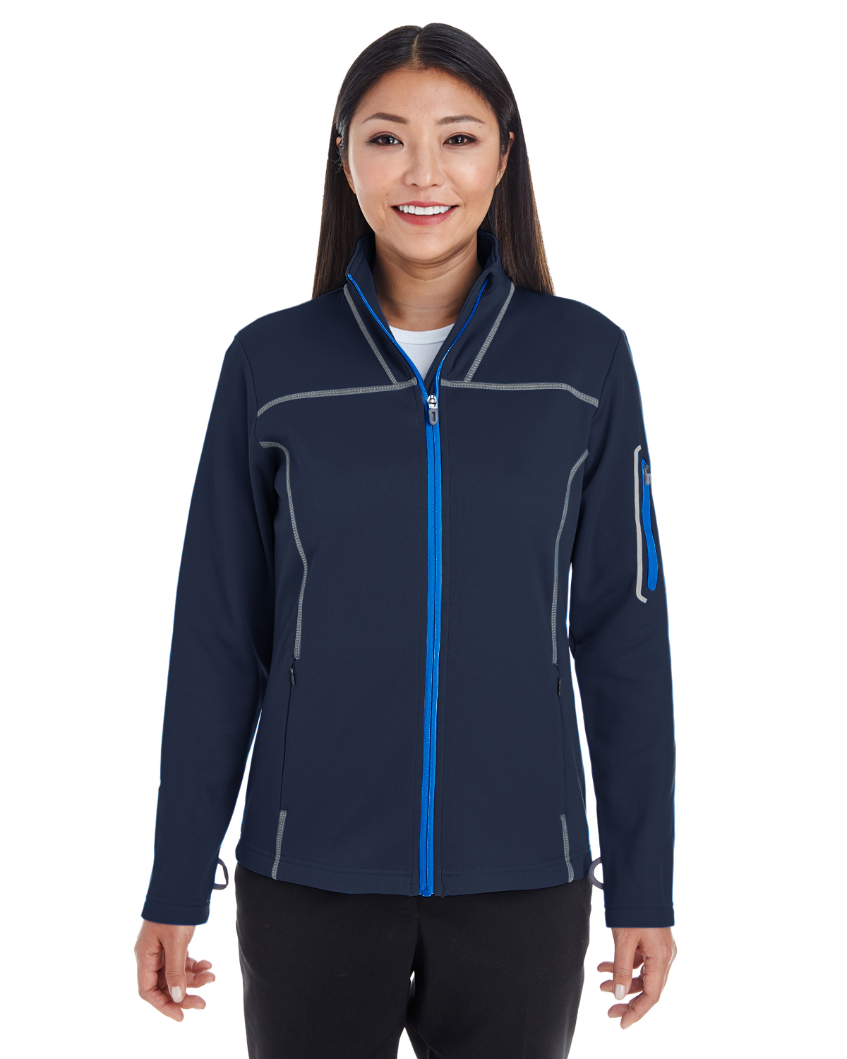 Ash City - North End NE703W - Ladies' Endeavor Interactive Performance Fleece Jacket