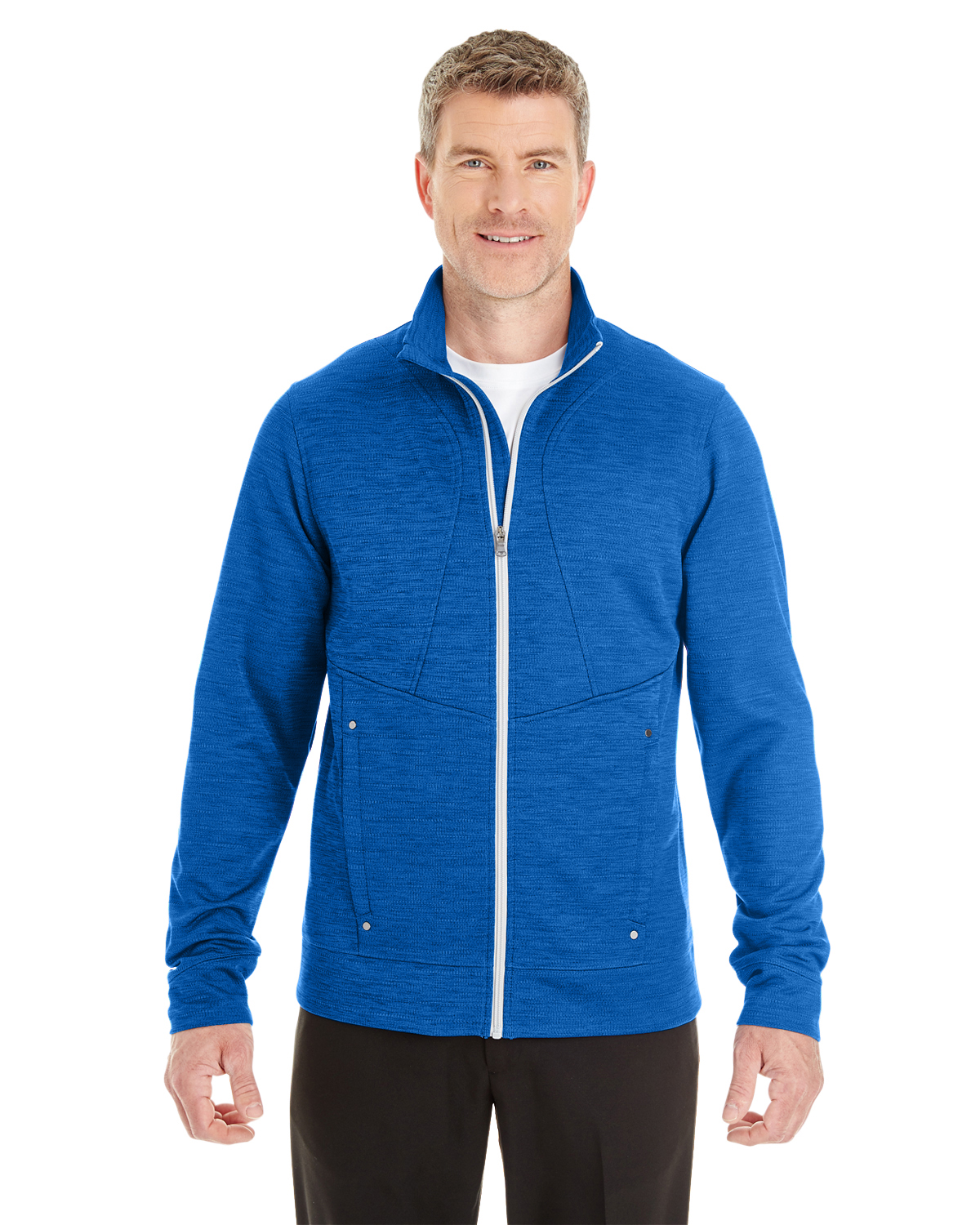 Ash City - North End NE704 - Men's Amplify Melange Fleece ...