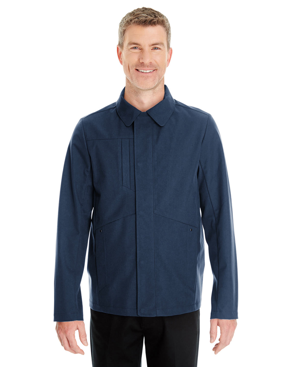 Ash City - North End NE705 - Men's Edge Soft Shell Jacket with Fold-Down Collar