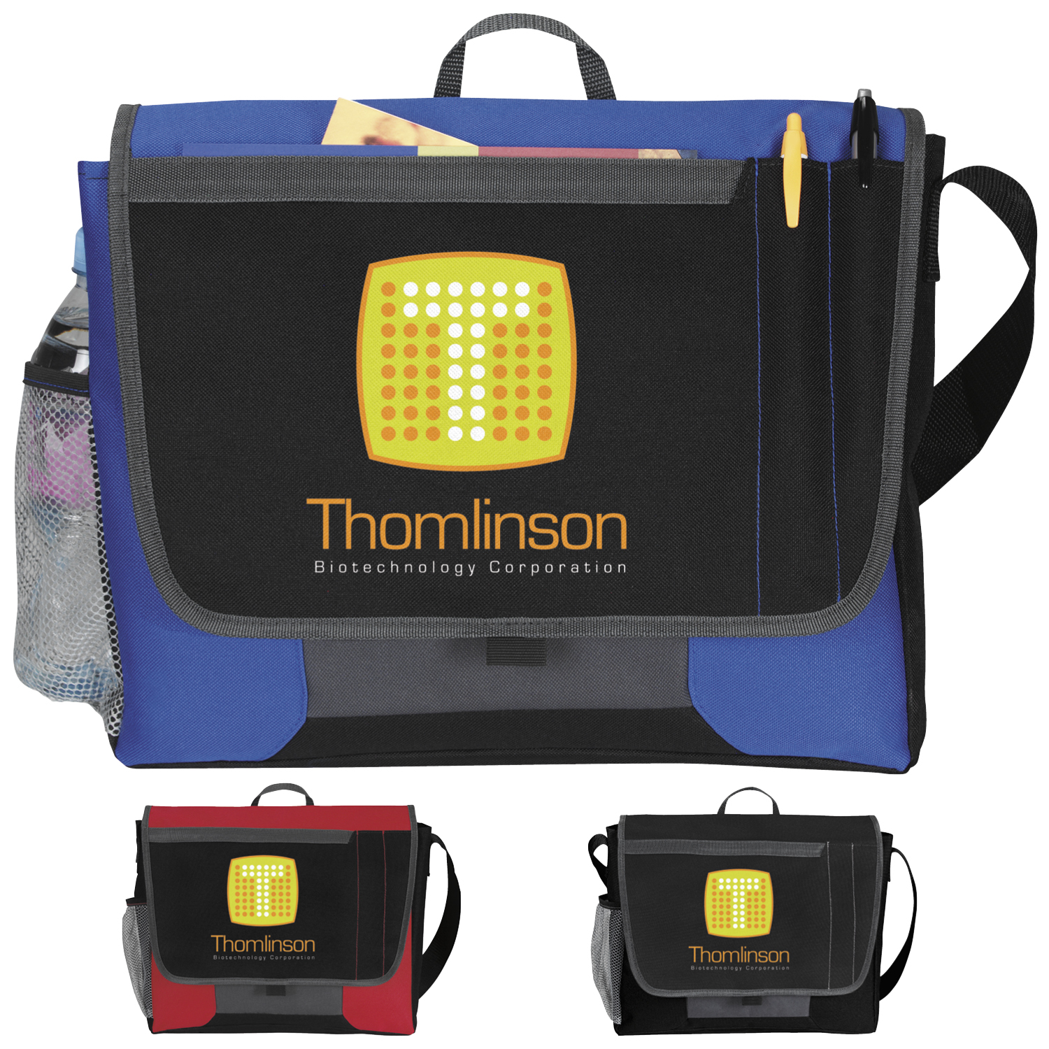 Atchison® AP3250 Tri-Pocket Flap Messenger