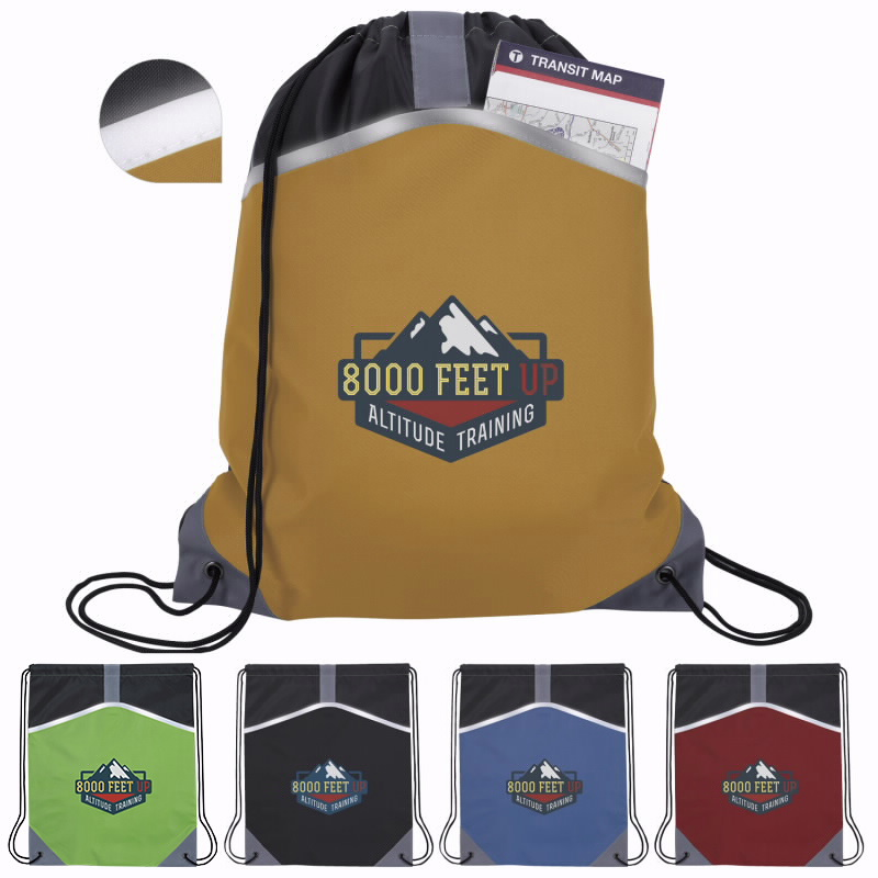 Atchison® AP5006 Safety Drawstring Backpack