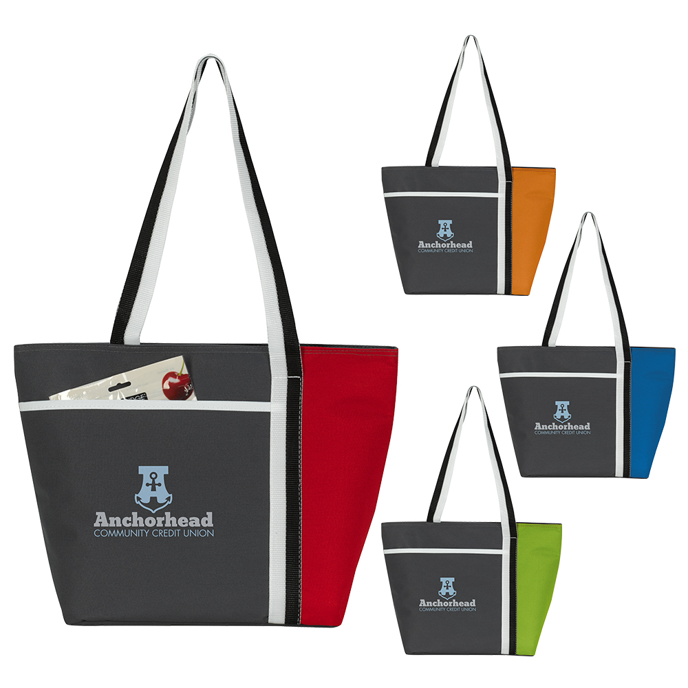 Atchison® AP8016 Calling All Stripes Cooler Tote