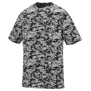 AUGUSTA 1798A - ADULT DIGI CAMO WICKING TEE