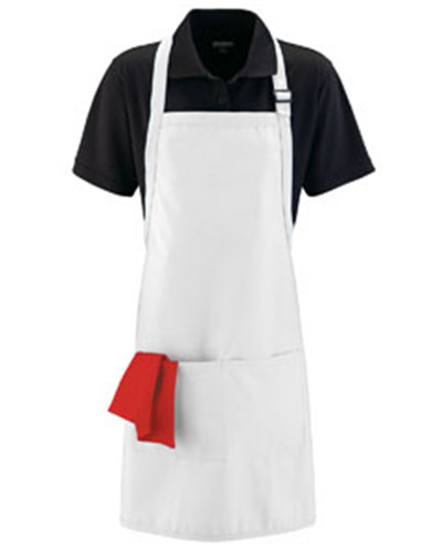 Augusta Drop Ship 5965 - Adult Full Width Apron with ...