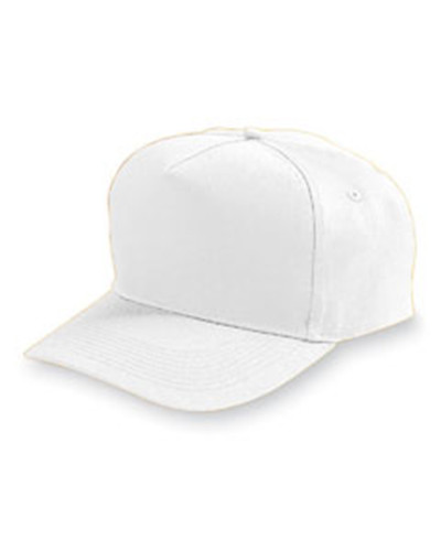 Augusta Drop Ship 6202 - Adult 5-Panel Cotton Twill Cap