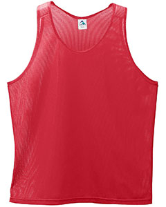 Augusta Drop Ship 134 - Youth Polyester Mini Mesh Sleeveless Jersey