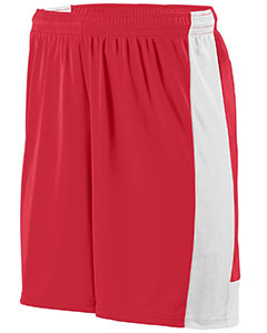 Augusta Drop Ship 1606 - Youth Wicking Polyester Short with Contrast Inserts