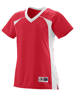 Augusta Drop Ship 262 - Ladies Polyester Mesh V Neck Short Sleeve Jersey