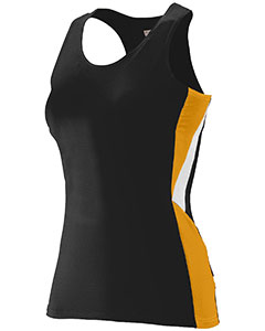 Augusta Drop Ship 334 - Ladies Wicking Poly Span Racerback ...