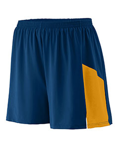 Augusta Drop Ship 335 - Adult Wicking Poly Span Short with Inserts