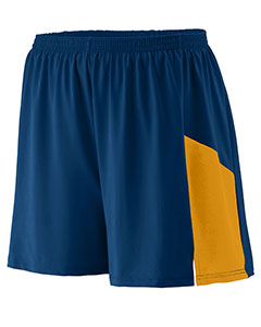 Augusta Drop Ship 336 - Youth Wicking Poly Span Short with Inserts