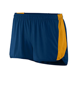 Augusta Drop Ship 337 - Ladies Wicking Poly Span Short with Inserts