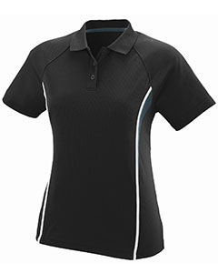 Augusta Drop Ship 5024 - Ladies Wicking Polyester Mesh Sport Shirt with Contrast Inserts